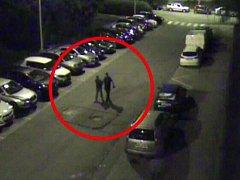 Dopadený muž, který se vloupal do vozu