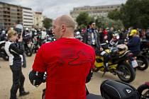 Na pražskou Letnou se v pátek 20. června 2014 sjeli motorkáři z různých koutů České republiky, aby podpořili brněnský závod mistrovství světa silničních motocyklů.