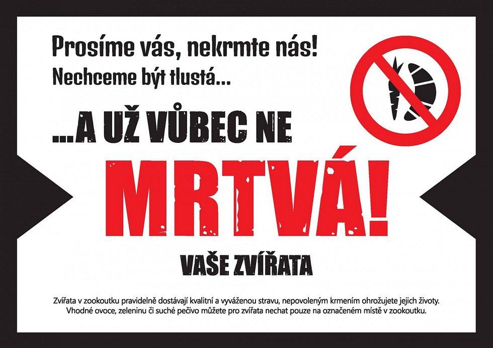 Upozornění Lesů hl. města.