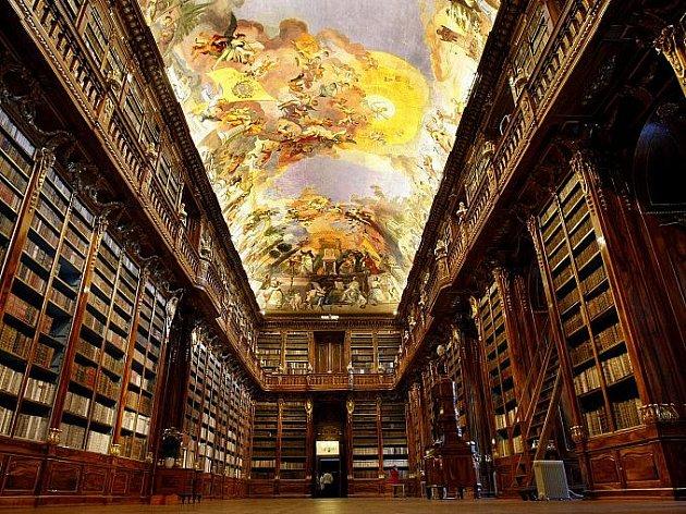 Otevření stálé expozice ve Strahovském klášteře a nově rekonstruovaného Filosofického sálu proběhlo 9.prosince vPraze.