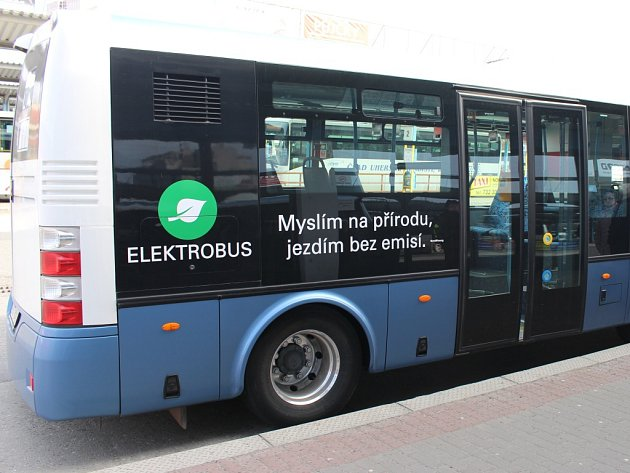 Elektrobus. Ilustrační foto.