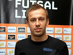 Český futsalový reprezentant Lukáš Rešetár.