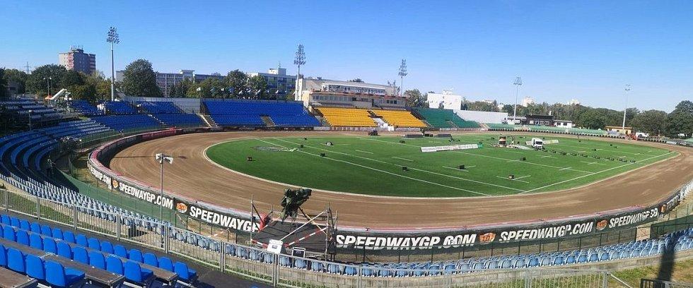 Stadion Markéta hostí mistrovství světa plochodrážníků.
