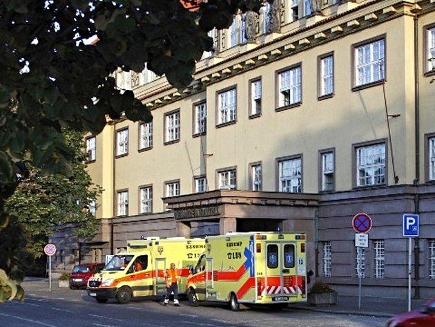Nemocnice Na Františku v Praze.