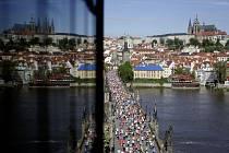 Pražský maraton, květen 2013