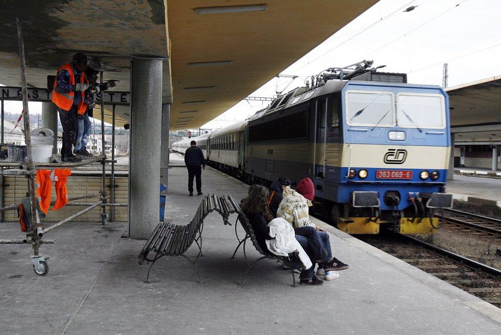 Nádraží Praha - Smíchov. Ilustrační foto.