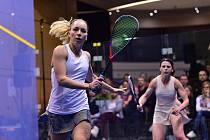 Olga Kolářová-Ertlová zkusí zabojovat o svůj šestý squashový tuzemský mistrovský titul.