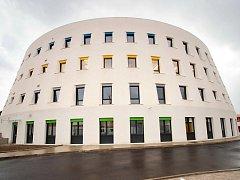 Depozitář pro Uměleckoprůmyslové muzeum v Praze postavila firma PSJ.