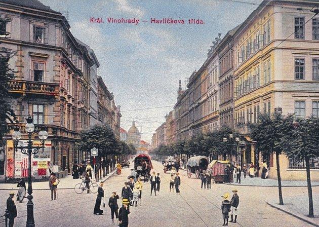 Historické Vinohrady na dobových malbách a kresbách.