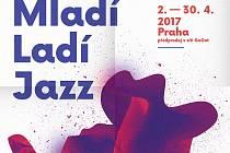 Plakát festivalu Mladí ladí jazz.