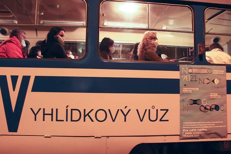 Noc literatury v Praze.