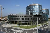 Administrativní centrum Aviatica s bytovým komplexem.