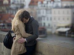 Zamilovaný pár. Ilustrační foto.