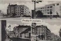 Jak jsme žili v Československu - Vysočany. Pohlednice.