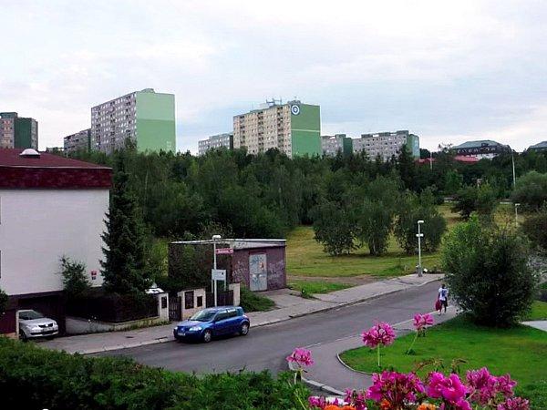 Podoba staveniště vroce 2009