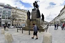 Sousoší sv. Václava na Václavském náměstí