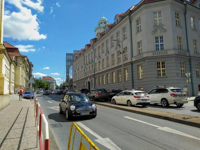 Resslova ulice.