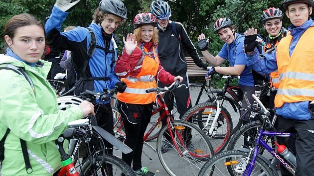 Studentská cyklojízda Prahou