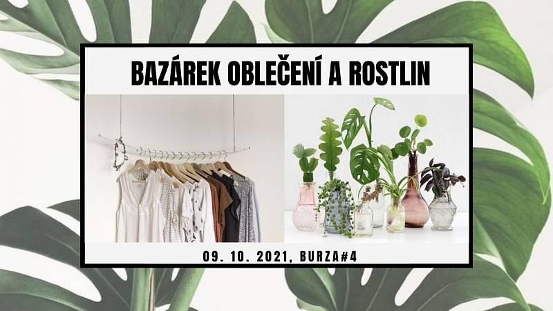 Na Pražskou tržnici si můžete v sobotu skočit třeba na bazárek oblečení a rostlin.