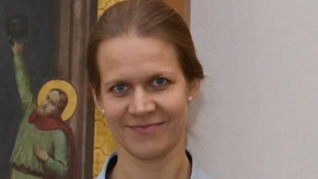 Kaplanka Thomayerovy nemocnice v Praze Doubravka Vokáčová.