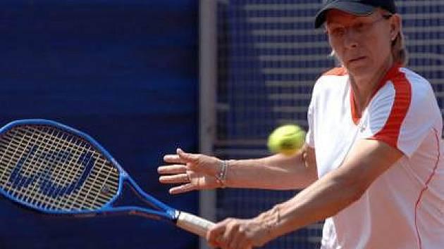 Tenisové legendy na Štvanici, 14. června 2007.