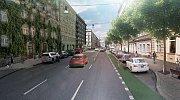 Dnes jedna z dopravně nejvytíženějších ulic v Praze s nejvíce znečištěným ovzduším. Humanizací by se měla zúžit. Na širších chodnících se má objevit zeleň.