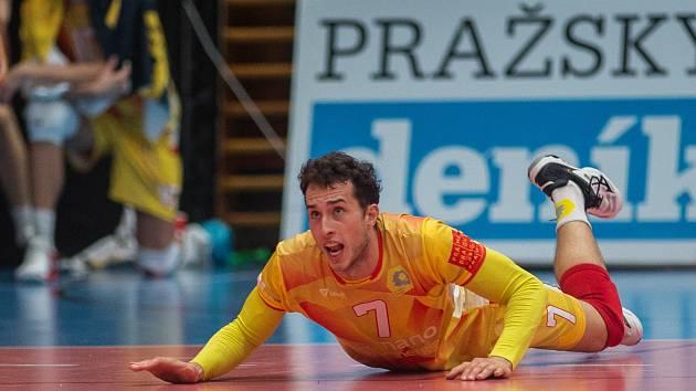 BOJOVNÍK. Marek Šulc dává do každého zápasu sto procent.