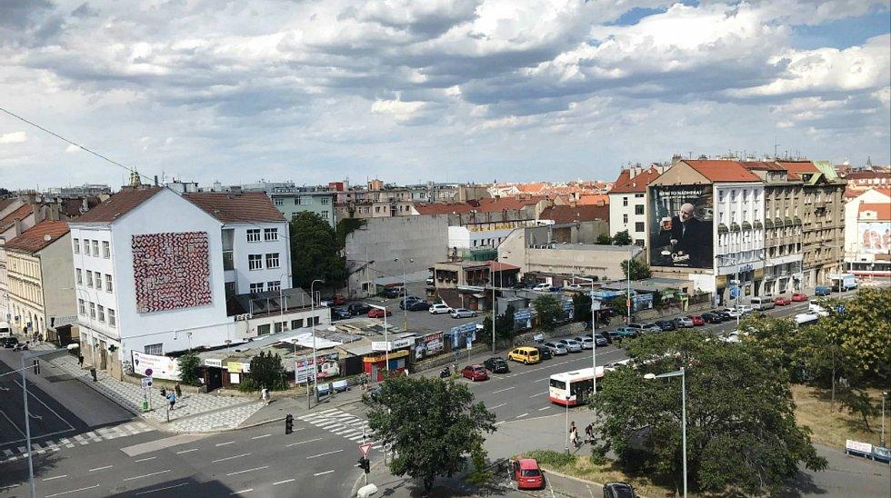 V proluce naproti autobusovému terminálu Na Knížecí vzniká další gastronomické městečko Manifesto Anděl.