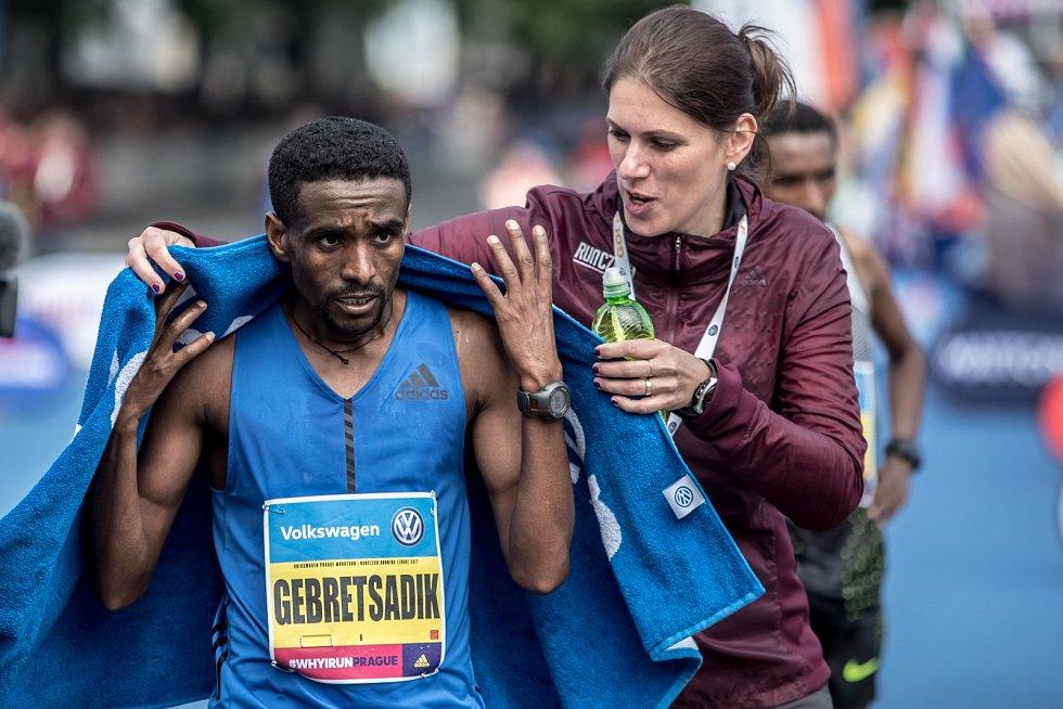 Pražský maraton se uskutečnil 7. května v Praze. Na snímku vítěz Gebretsadik Abraha.