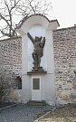 socha sv. Šebestiána (Štulcova ulice)