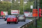 Billboardy v Praze. Ilustrační foto.