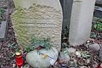 Olšanské hřbitovy, hrob Ladislava Smoljaka.