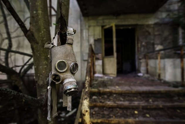 Černobyl objektivem Milana Říského.