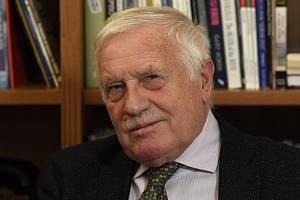 Bývalý prezident Václav Klaus (na snímku z 12. listopadu 2020).