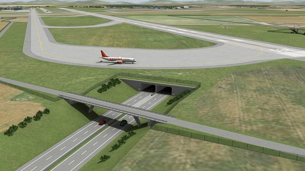 Plánovaná paralelní dráha se má nacházet přibližně jeden a půl kilometru od současné hlavní dráhy směrem k hlavnímu městu.
