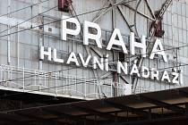 Praha hlavní nádraží.