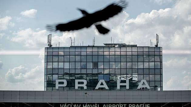 Ilustrace Letiště Václava Havla v Praze, 21. července. Terminál 1
