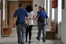Z vraždy partnera se od úterka zpovídá u Krajského soudu v Praze 47letá Alžběta Zahradníková.