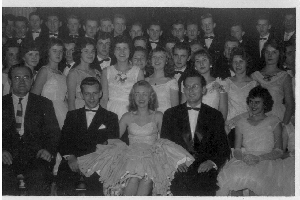 Taneční na Smíchově v roce 1948.