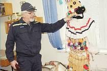 STAROSTA sboru bohutínských dobrovolných hasičů Jaroslav Nusl u Slamáka