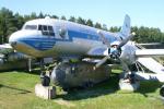 Letoun typu Il-14 v jedné z verzí je exponátem Air Parku ve Zruči u Plzně.