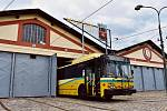 Trolejbus Škoda 14 TrE byl zapůjčen do pražského muzea MHD.