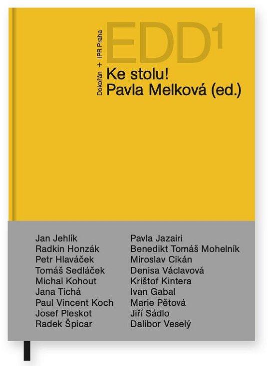 Kniha Ke stolu! architektky Pavly Melkové.