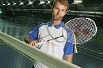 Český badmintonový hráč Jan Fröhlich.