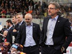 Zprava Zdeněk Moták, Jiří Kalous, Jiří Veber a Petr Přikryl (vzadu).