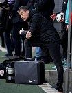 Premiéra Pavla Hapala na sparťanské lavičce. Jeho tým remizoval v Karviné 1:1. - foto: Aleš Krecl