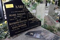 Hrob Karla Václava Raise poničila spadlá větev při únorové vichřici