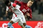Zápas 14. kola FORTUNA:LIGY mezi Sparta Praha a Slavia Praha, hraný 4. listopadu v Praze..