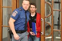 Pavel Kolba u Vrchního soudu v Praze.