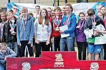 Ve sportovním areálu Na Františku se uskutečnilo okresní kolo Odznaku všestrannosti olympijských vítězů pro Prahu 1.